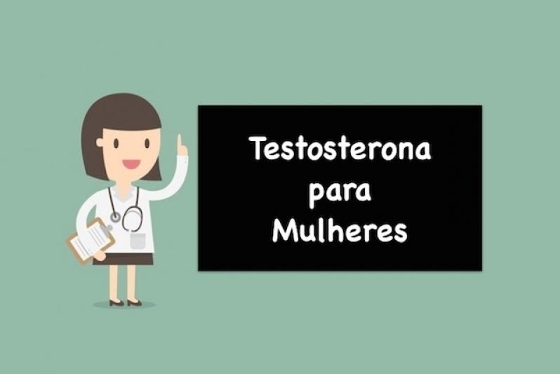 Clínica de Reposição de Testosterona Vila Madalena - Clínica de Reposição Hormonal Feminina