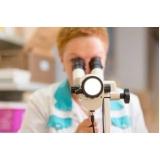 clínica para exame de colposcopia